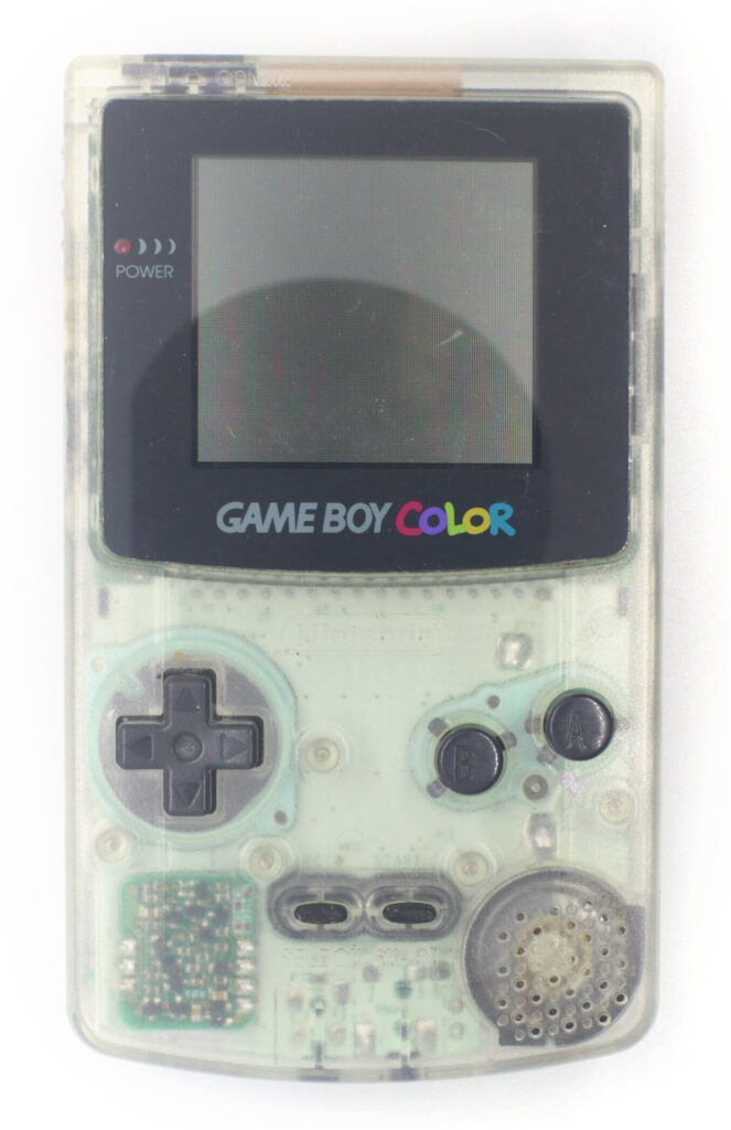 Nintendo Gameboy Color Clear